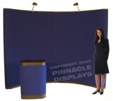 Eclipse pop-up trade show convention display booth