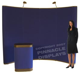 Eclipse pop-up trade show display booths
