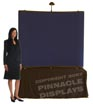 6ft table top pop-up trade show display stand with velcro fabric panels