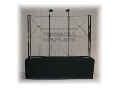 Eclipse 8ft tabletop pop-up trade show display frame
