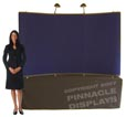 8ft table top pop-up trade show displays