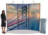 Signature 3-panel trade show display booth $1.995